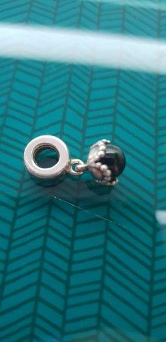 Pandora Bedel zwart-zilver