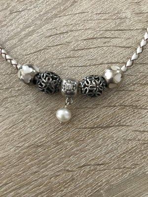 Original Pandora Creme Armband mit Beads