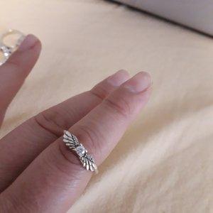 Pandora Bague en argent blanc-argenté