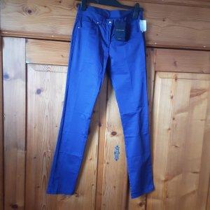 original Paul& Shark, blaue Stoffhose, Gr. 34