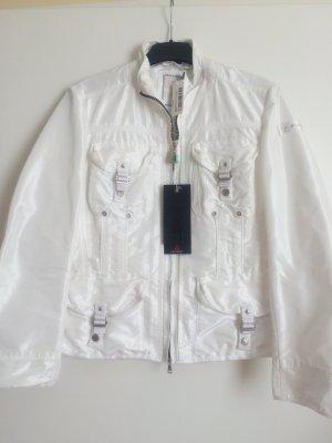 Peuterey Kurtka przejściowa biały-w kolorze białej wełny