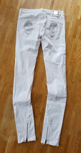 Original Philipp Plein skinny gossip Trash snow white w25