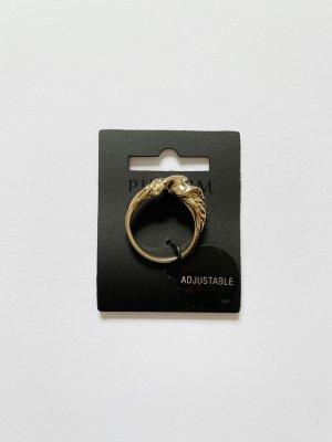 Original Pilgrim Ring Gold Vintage Look Neu in OVP Ungetragen größenverstellbar