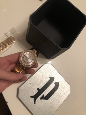Original POLICE Uhr mit Swarovski Steinchen