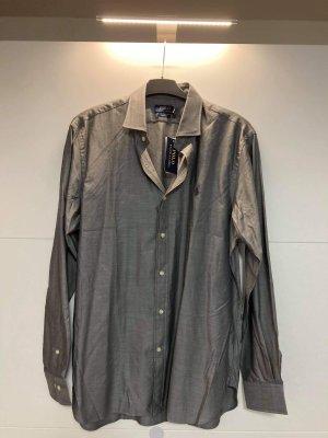 Polo Ralph Lauren Camisa de manga larga gris