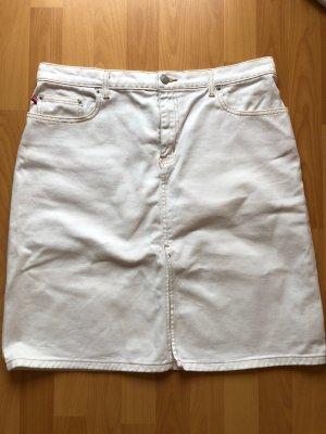 Polo Ralph Lauren Denim Skirt white