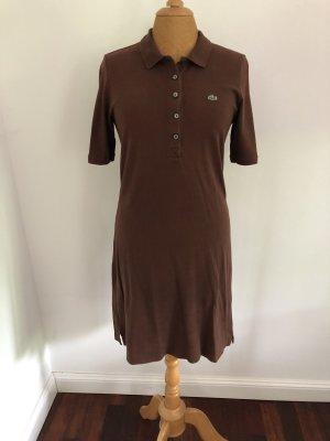 Lacoste Sukienka polo brązowy