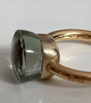 Original Pomellato Nudo Prasiolith Ring Gr. 55/56