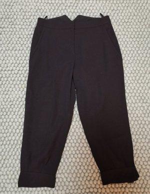 Prada 7/8 Length Trousers black mixture fibre