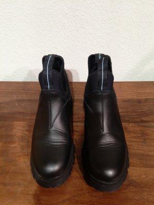Original Prada Boots in schwarz, Gr. 40 - in sehr gutem Zustand