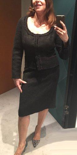 Prada Ladies' Suit black viscose