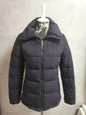 Prada Down Jacket dark blue mixture fibre