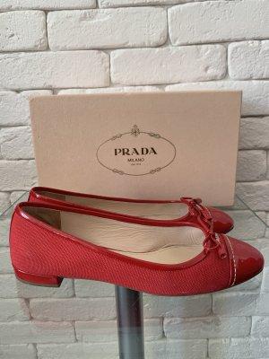 Original Prada Duplex Ballerinas 37