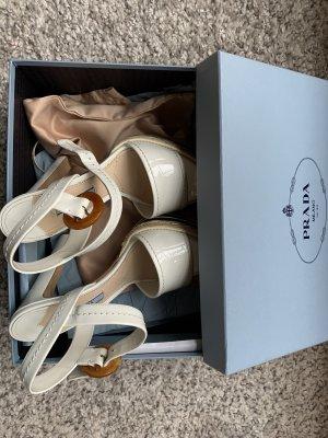 Prada Plateauzool sandalen veelkleurig