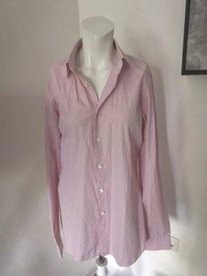 Prada Long Sleeve Shirt light pink-lime yellow mixture fibre