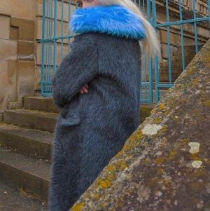 Prada Abrigo de invierno multicolor lana de alpaca