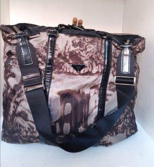 Prada Crossbody bag grey brown-dusky pink