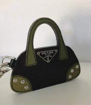 Original PRADA Schlüssel oder Taschen Anhänger, Ring | NEU