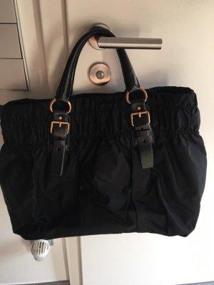 Prada Frame Bag black nylon