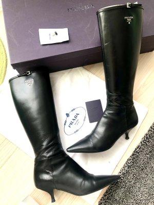 Original Prada Stiefel 100% Leder