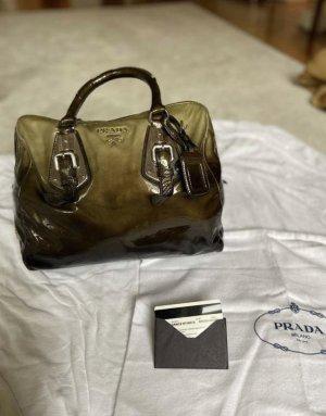 Original Prada Tasche aus Lackleder