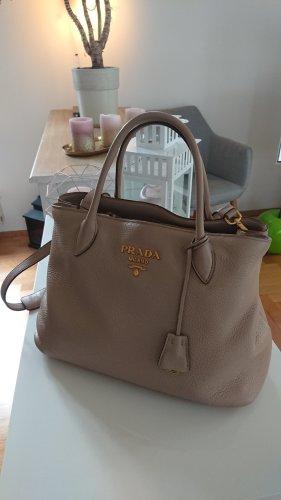 Original PRADA Tasche, Leder, Farbe Cammeo, Vit. Daino, 1BA579