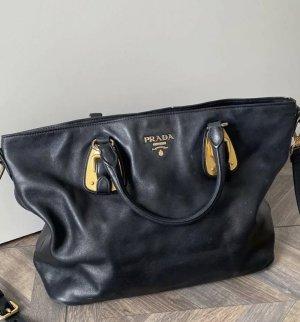 Original Prada Tasche Leder schwarz