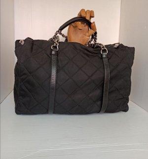Original Prada Tasche Schultertasche schwarz gesteppt