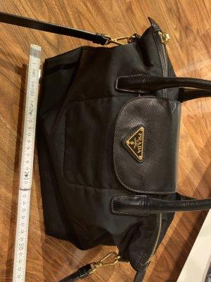Original Prada Tessuto Handtasche Tasche neuwertig schwarz