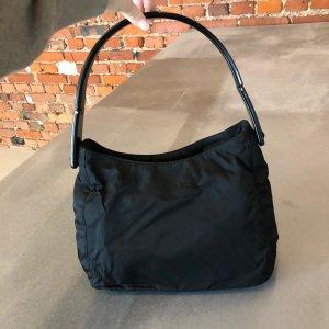 Original PRADA Vintage Nylontasche Farbe: schwarz, sehr guter Zustand
