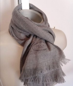 Prada Sciarpa di lana grigio