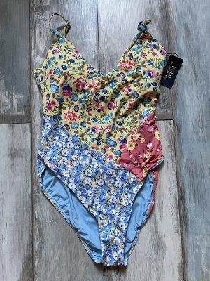 Ralph Lauren Swimsuit azure-salmon