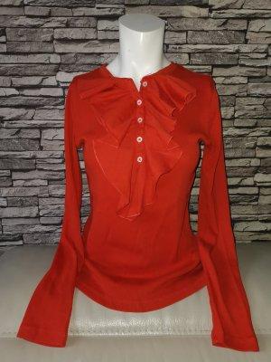 Original Ralph Lauren langarm Shirt Pulli Pullover rot Gr S 100% Baumwolle