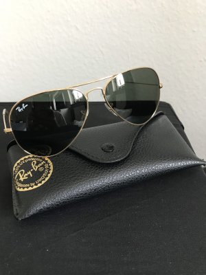 Ray Ban Glasses gold-colored-dark green