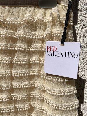 RED Valentino High Waist Skirt cream-natural white