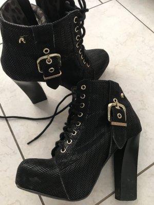 Replay Halfhoge laarzen zwart