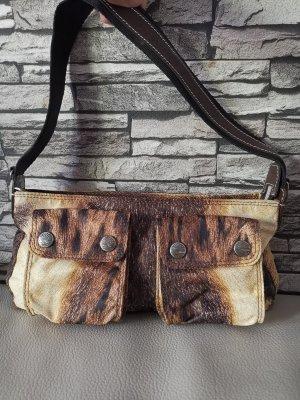 Roberto Cavalli Handbag light orange-brown mixture fibre