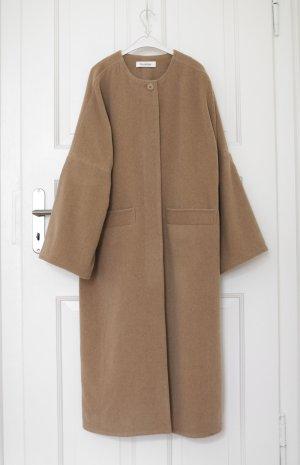 Original Rodebjer Mantel Camel Modell: Nusa Beige Camel Gr. S Oversized Wolle