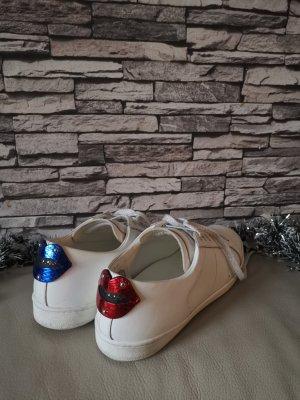 Original Saint Laurent Paris Sneakers Turnschuhe Schuhe Baskets lips Lippen Gr 41