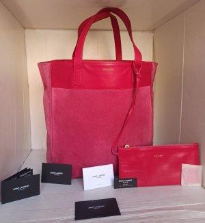 Saint Laurent Shopper roze-magenta