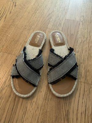 Original Sandalen von Ralph Lauren in Größe 8,5 - 39,5 Neuwertig, 1x getragen