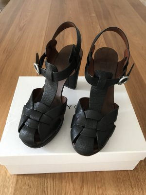 See by Chloé Plateauzool sandalen zwart
