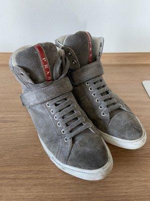 Prada Slip-on Sneakers grey