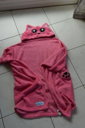 Bata de noche rosa