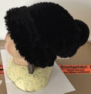 Steffen Schraut Fur Hat black pelt