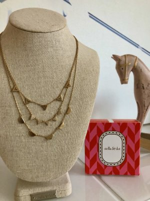 Stella & Dot Gold Chain gold-colored