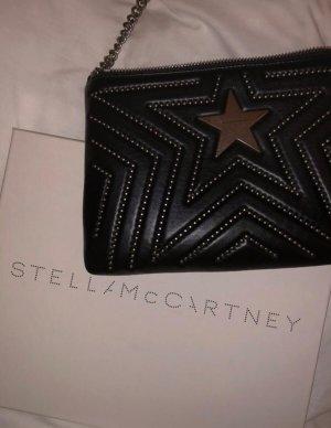 Stella McCartney Clutch black-silver-colored