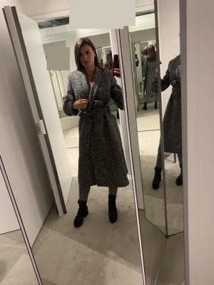 Stella McCartney Abrigo de lana blanco-negro Lana