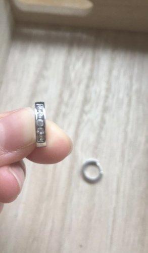 Original Sterlingsilber Ohrringe mit Steinen