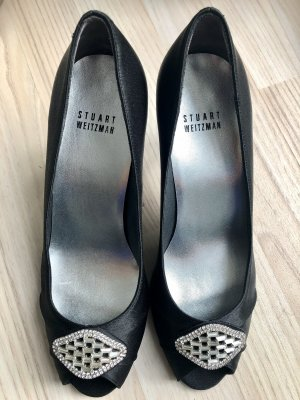Original Stuart Weitzman Peeptoe High Heels Neue